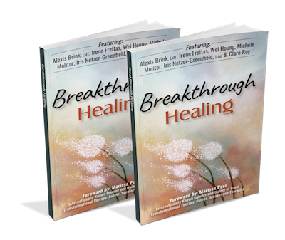 breakthrough healing bestselling acupuncture book co-authored by iris netzer-greenfield